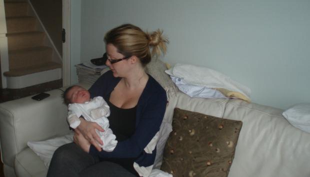 4-week-old baby